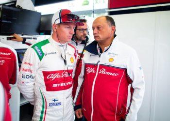 F1 Formula 1 Alfa Romeo Kimi Raikkonen Frederic Vasseur
