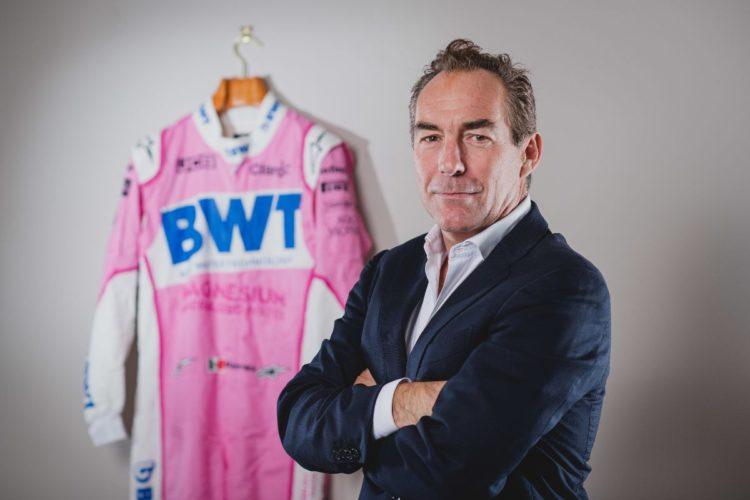 F1 Formula 1 Racing Point Jefferson Slack Managing Director Aston Martin