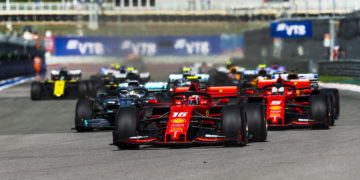 Laurent Mekies F1 Formula 1 Ferrari Russian grand Prix updates