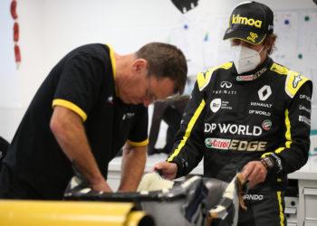 F1 Formula 1 Fernando Alonso Renault Russian Grand Prix