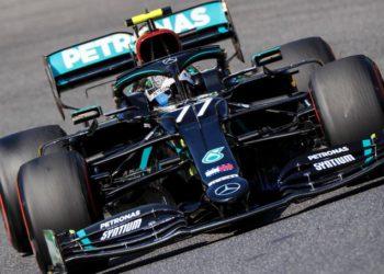 F1 Formula 1 Mercedes Russian Grand Prix Valtteri Bottas FP1 practice results