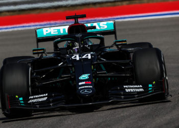 F1 Formula 1 Mercedes qualifying Russian Grand Prix Lewis Hamilton pole position Verstappen Bottas