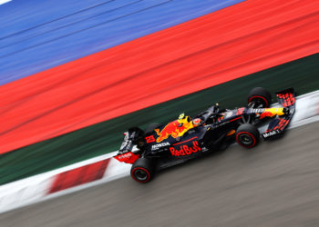 F1 Formula 1 Alex Albon Red Bull Racing Russian Grand Prix
