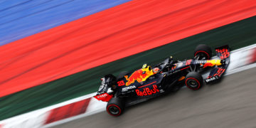 F1 Formula 1 Alex Albon Red Bull Racing Russian Grand Prix