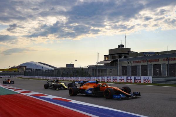 F1 Formula 1 McLaren Russian Grand Prix results