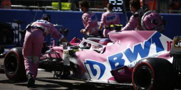 F1 Formula 1 Lance Stroll Racing Point Russian Grand Prix