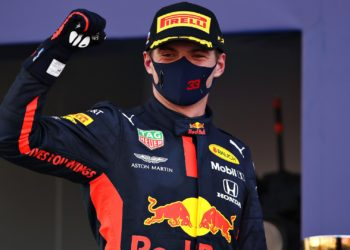 Verstappen 'very happy' with P2 despite balance issues in first stint