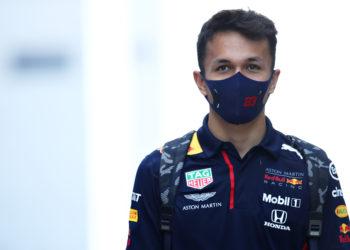 Red bull F1 Formula 1 Christian Horner Alex Albon Max Verstappen