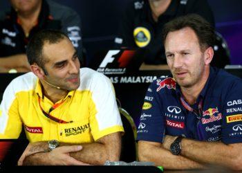 F1 Formula 1 Cyril Abiteboul Renault Christian Horner