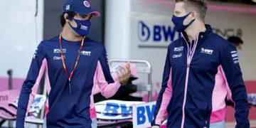 F1 Formula 1 Nico Hulkenberg Lance Stroll Eifel Grand Prix Nurburgring