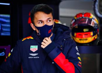 F1 Formula 1 Alex Albon Red Bull Racing Eifel Grand prix penalty points