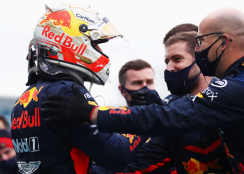 Verstappen: P2 where Red Bull 'belong' this weekend