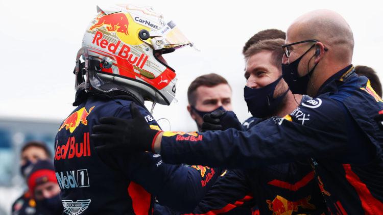 Verstappen: P2 where Red Bull 'belong' this weekend
