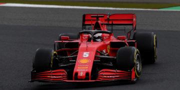 F1 Formula 1 Sebastian Vettel Ferrari Eifel Grand Prix