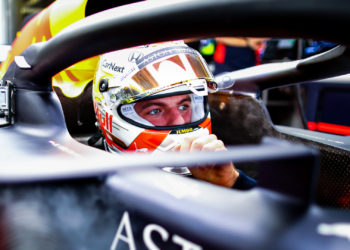 Verstappen happy with P3 but tarmac is 'hit and miss' for tyres