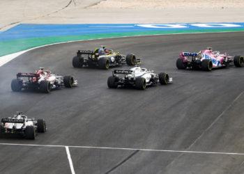 F1 Formula 1 Pierre Gasly Sergio Perez Portuguese Grand Prix