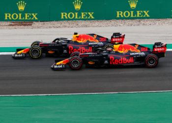 F1 Formula 1 Red Bull Racing Max Verstappen Alex Albon Christian Horner