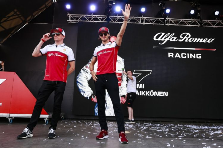 F1 Formula 1 Alfa Romeo Kimi Raikkonen Antonio Giovinazzi