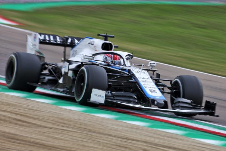 F1 Formula 1 Williams George Russell crash Safety Car