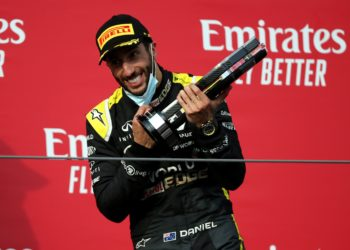 Ricciardo scores another podium in 'bizarre' race
