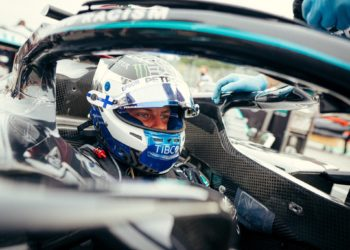 Bottas: 'so proud' of Mercedes but 'unlucky' with debris
