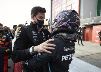 F1 Formula 1 Mercedes Toto Wolff Lewis Hamilton