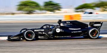 F1 Formula 1 Renault Fernando Alonso Bahrain testing