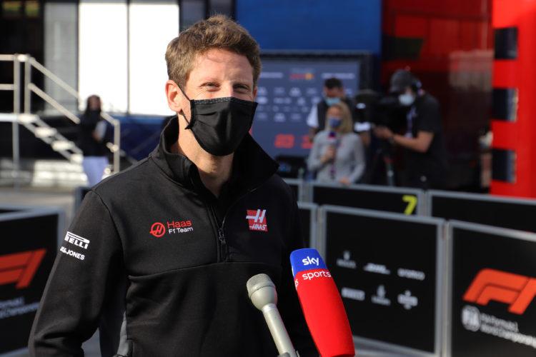 F1 Formula 1 Haas Romain Grosjean George Russell