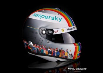Vettel unveils special 'Together as One' helmet for Turkey
