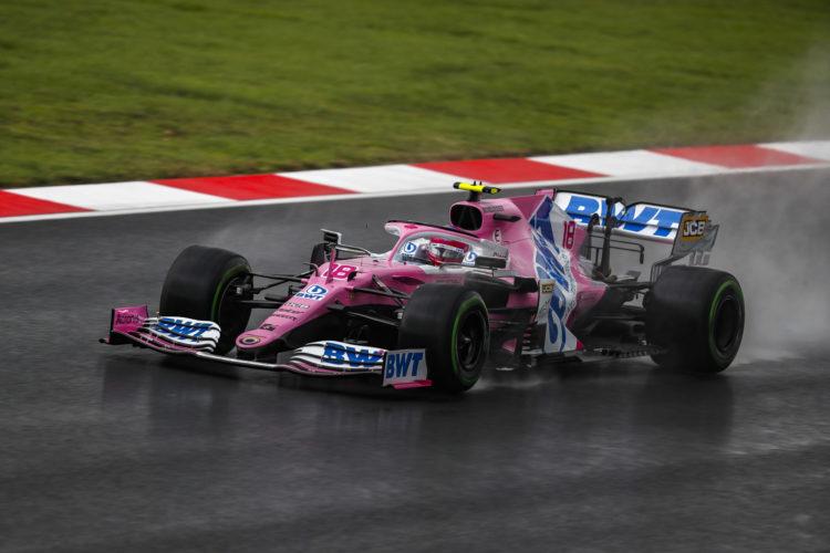 F1 Formula 1 Racing Point Qualifying Lance Stroll