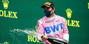 Perez' tyres pushed to the brink of 'explosion' on his way to 2nd