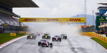 F1 Formula 1 Racing Point Lance Stroll Turkish Grand Prix front downforce