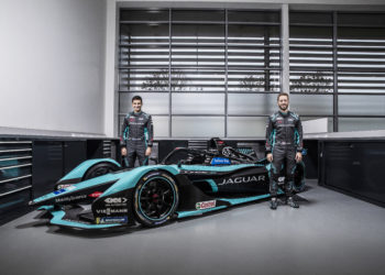 Jaguar unveil their new season 7 car
