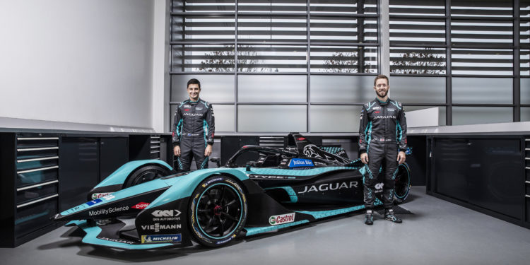 Jaguar unveil their new season 7 car