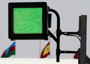 F1 Formula 1 FIA circuits light panels