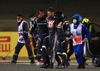 F1 Formula 1 Haas Romain Grosjean Bahrain Grand Prix