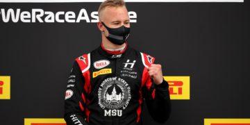 F1 Formula 1 Haas Nikita Mazepin Hitech Formula 2