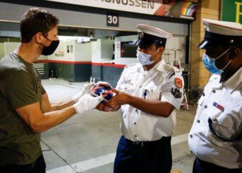 F1 Formula 1 Haas Romain Grosjean Sakhir Grand Prix Bahrain crash