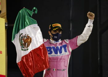 F1 Formula 1 Racing Point Sergio Perez Sakhir Grand Prix