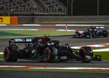F1 Formula 1 Sakhir Grand Prix Valtteri Bottas Mercedes George Russell