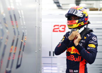 F1 Formula 1 Alex Albon Red Bull Racing Sergio Perez Sakhir Grand Prix