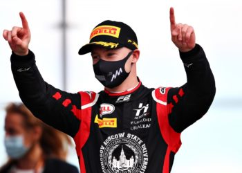 F1 Formula 1 Nikita Mazepin Abu Dhabi Grand Prix