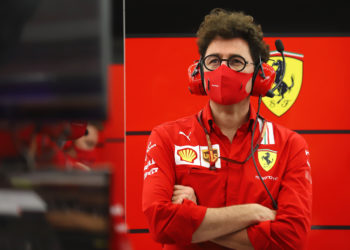 F1 Formula 1 Mattia Binotto Ferrari Abu Dhabi Grand Prix