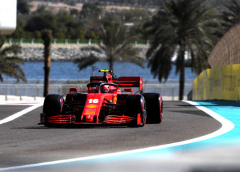 F1 Formula 1 FP1 Practice Results Abu Dhabi