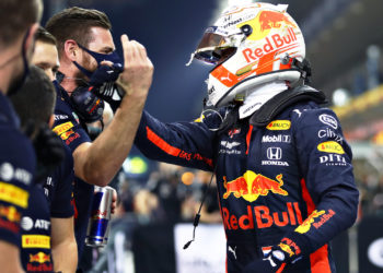 "Verstappen: ""Good final qualifying after frustrating year"""