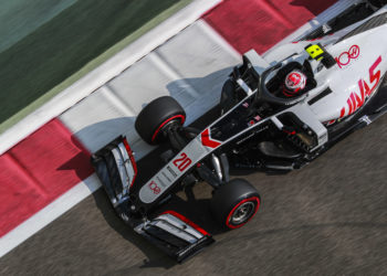 F1 Formula 1 Haas Kevin Magnussen Abu Dhabi Grand Prix