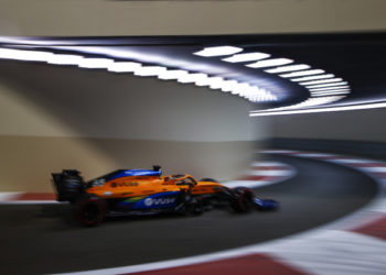 F1 Formula 1 McLaren Carlos Sainz Abu Dhabi Grand Prix