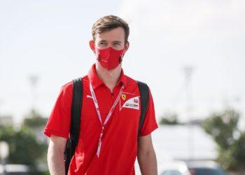 F1 Formula 1 Callum Ilott Ferrari Driver Academy test driver