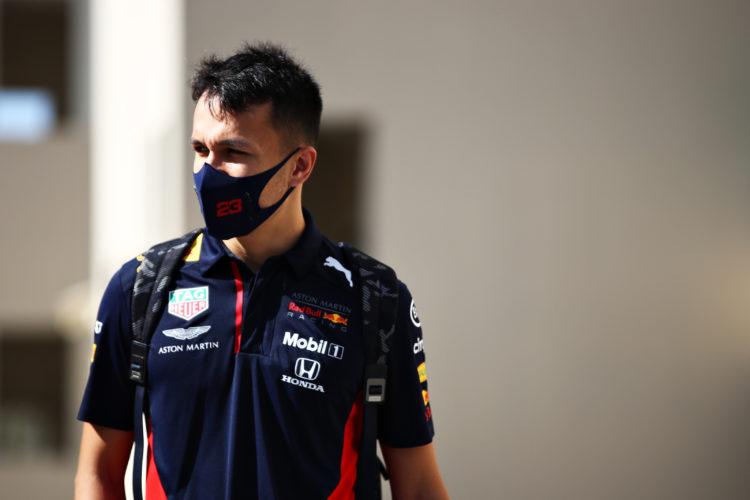 F1 Formula 1 Alex Albon Red Bull Racing Sergio Perez