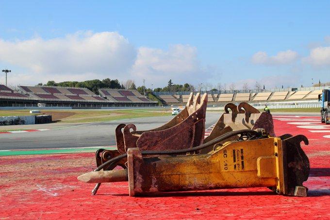 F1 Formula 1 Circuit de Barcelona-Catalunya Turn 10